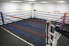 16 Foot Professional Wrestling Boxing Ring Canvas Cover Mma Ufc Wwe Tna - Black