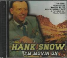 HANK SNOW IM MOVIN ON CD BRAND NEW SEALED,FREE SHIP USA