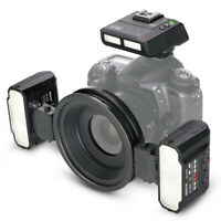 Meike MK-MT24 Macro Twin Lite Flash With Trigger For Canon DSLR Camera 70D 60D