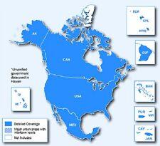 North America, USA, Canada, Mexico GPS map 2017.20 for Garmin Devices