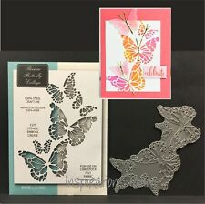 Reverse Butterfly Collage die Memory Box metal dies 99145 animals,insects