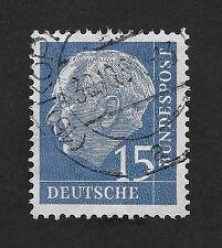 GERMANY 1957 Professor TH Heuss 15 pfg (Z2)