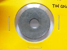 B180 - Thailand 20 Satang Tin coin (1945) - VF