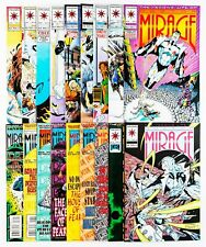 Second Life of Doctor Mirage #1-18 Complete Set (1993 Valiant) Unread issues! NM