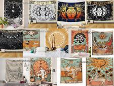 Tarot Psychedelic Wall Hanging Tapestry Decorations Hippie Bohemian Mandala UK