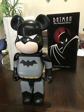 Medicom Bearbrick Hero 400% be@rbrick Batman DC Comic Animated Series Very Rare