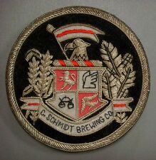 Badge - C. Schmidt BREWING Co. (Metal embroidered on cloth)
