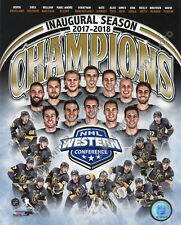 Las Vegas Golden Knights 2018 NHL Western Conference Champions 8x10 Photo