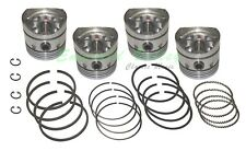 Classic Mini 1098 New 4 Piston Set Size STD with 8.9 to 1 CR