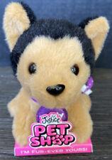 By Gund Justice Pet Shop Teddy The German Shepard