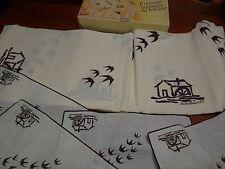 Mulino Bianco Tovaglia + 4 tovaglioli - colazione vintage anno 1985 - collezione
