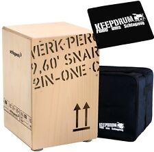 Schlagwerk CP 403 Natur 2inOne Cajon + Keepdrum Gig Bag Tasche + CP-01 Sitzpad