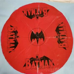 "VINTAGE -  BATMAN RED PARACHUTE  24""    1966 LOOK!!"
