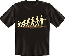 T-Shirt Fun Shirt Küche Evolution Koch S -  XXXL