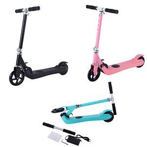 ElektroRoller Einstellbare Klappbar 5 Zoll Elektro Scooter Kinder E-Scooter 100W