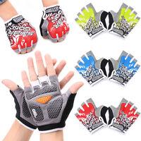 New Fashion Cycling Bike Bicycle Shockproof Sports Half Finger Glove M L XL