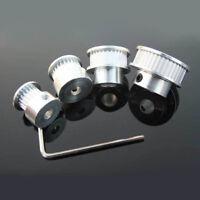 GT2 6mm PULEGGIA 16-60 DENTE ALLUMINIO 5-10mm foro per RepRap 3D stampante KIT