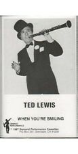 When You're Smiling ~ Ted Lewis ~ Swing ~ Pop ~ Cassette ~ Good