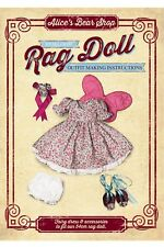 Rag Doll Fairy Outfit - Sewing Pattern & Instructions DOWNLOAD +Tutorial Videos