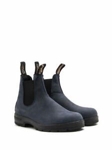 Blundstone Chelsea 1604 UNISEX Boot(Blueberry Nubuck, Water & Slip Resist, Lite)