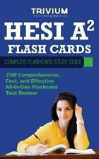 HESI A2 Flash Cards : Complete Flash Card Study Guide: By Trivium Test Prep S...