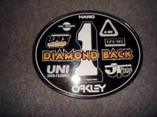 Old School OVAL BMX Number plate by OGK JAPAN -Diamondback