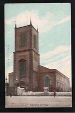 L@@K  The Parish Church Stockton on Tees 1900's ? Postcard