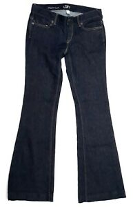 Ann Taylor Loft Modern Flare denim jeans womens Size 6