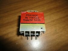 SHARP TRANSFORMER P0416CE OEM RTRNP0416CEZZ USED IN VARIOUS TV SETS. SHIPS FREE