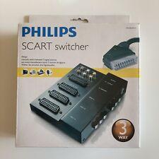 Philips SCART Switcher, drei Signalquellen