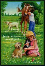 FRANCE - 2006 FAMILY PETS - DOMESTIC ANIMALS Miniature Sheet MNH SG4176 [A8636]