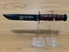 KA-BAR COMMEMORATIVE FIGHTING KNIFE #9139 US ARMY VIETNAM BLADE STAMP US ARMY