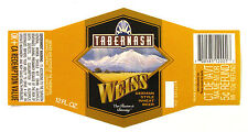 Tabernash Brewing WEISS - GERMAN STYLE WHEAT BEER label CO 12oz