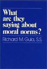 What Are They Saying About Moral Norms?