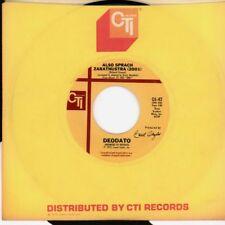"Deodato(7"" Vinyl)Also Sprach Zarathustra/ Spirit Of Summer-CTI-OJ 42-US-VG+/VG+"