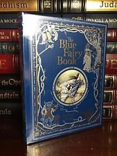 The Blue Fairy Book New Sealed Leather Bound Lang Cinderella Snow White Aladdin