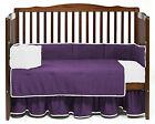 Unisex Reversible Bedding Set Toddler Fitted Flat Pillowcase Bed Skirt Comforter