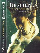 Deni Hines  Pay Attention CASSETTE ALBUM SAMPLER PROMOTIONAL Rhythm & Blues