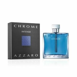 Chrome Intense by Azzaro for Men (100ML) Eau de Toilette -BOTTLE
