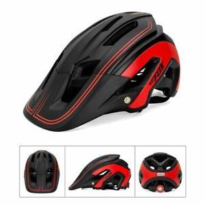 New MTB Mountain Bike Helmet Ultralight Adjustable Cycling Bicycle Helmet Safety