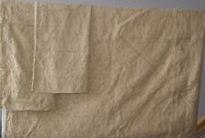 Dorma Jacquard Philamena Gold King Size Duvet Cover + 2 Oxford Style Pillowcases