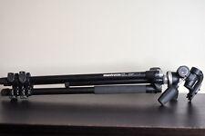 Manfrotto 290 Tripod Legs Kit w/ 804RC2 Pan Tilt Head - Complete Setup