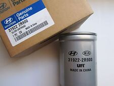 319222R900 FILTRO COMBUSTIBLE DIESEL ORIGINAL HYUNDAI-KIA, FUEL FILTER GENUINE