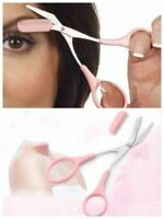 Ciseaux Brosse Peigne Pour Sourcils Cils Visage Couper Outil Maquillage Facile