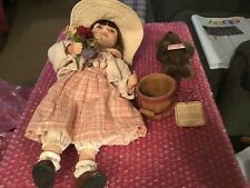 "Boyds Yesterday's Cild Porcelain Doll ""Madison"""