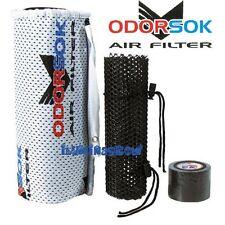 Filtro de aire Odorsok 330 M3/h boca 125mm Carbon activo Antiolor extractor