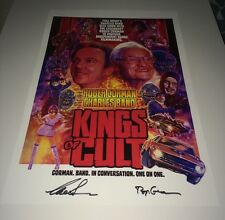 CHARLES BAND & ROGER CORMAN Signed FULL MOON MINI POSTER IN PERSON Exact PROOF