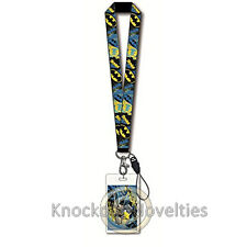 Lanyard with Name Tag-Batman Cute Fun Key ID Holder Clip