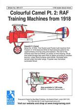 Blue Rider Decals 1/48 COLORFUL SOPWITH CAMEL Royal Air Force Trainer Part 2