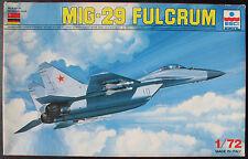 ESCI ERTL 9058 - MIG 29 FULCRUM - 1:72 - Flugzeug Modellbausatz - Model KIT